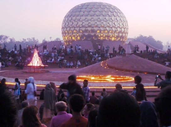 Dawnfire on Auroville Foundation Day