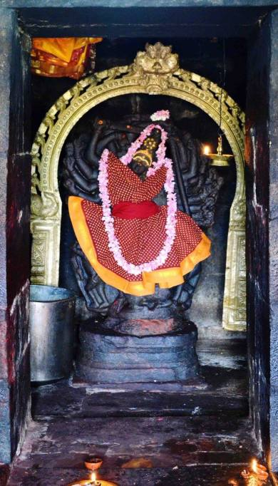 Mother at the Gangaikonda Cholapuram Temple