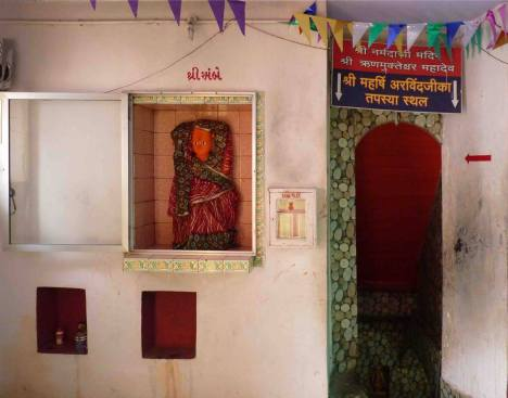 Kali Temple at the banks of Narmada, Gujarat