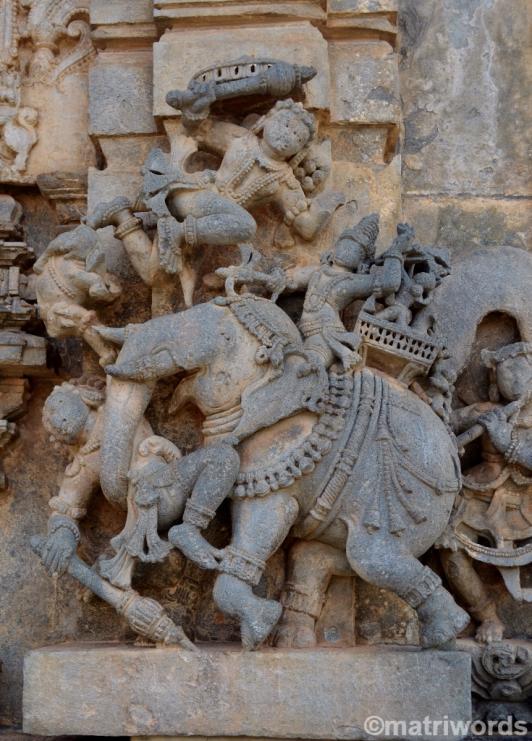 Prince Bhima at Belur
