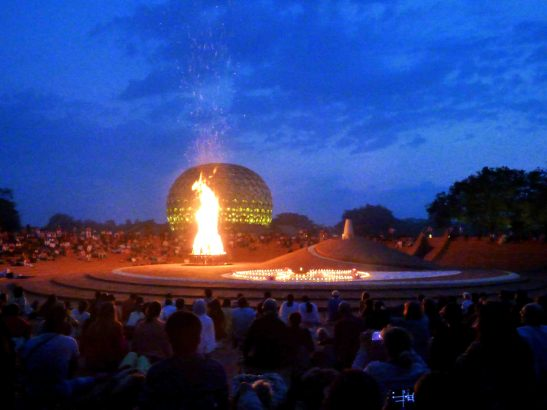 NEW Photo-feature: Auroville Dawnfire 2019