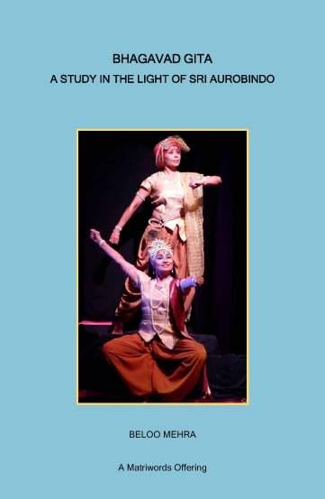Cover-Bhagavad Gita- A Study in the Light of Sri Aurobindo