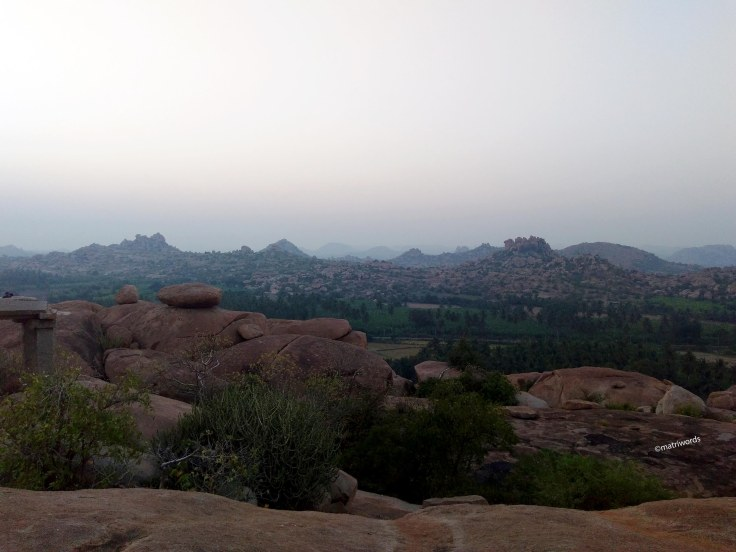 Malyavanta hill, Hampi