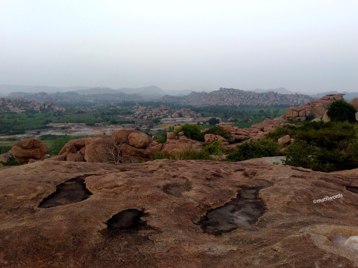 View from Malyavanta Hill, Hampi - 2