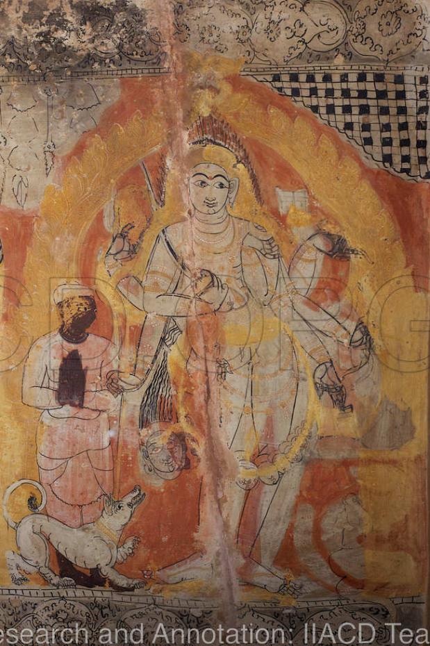 1 Drupad praying to Kala