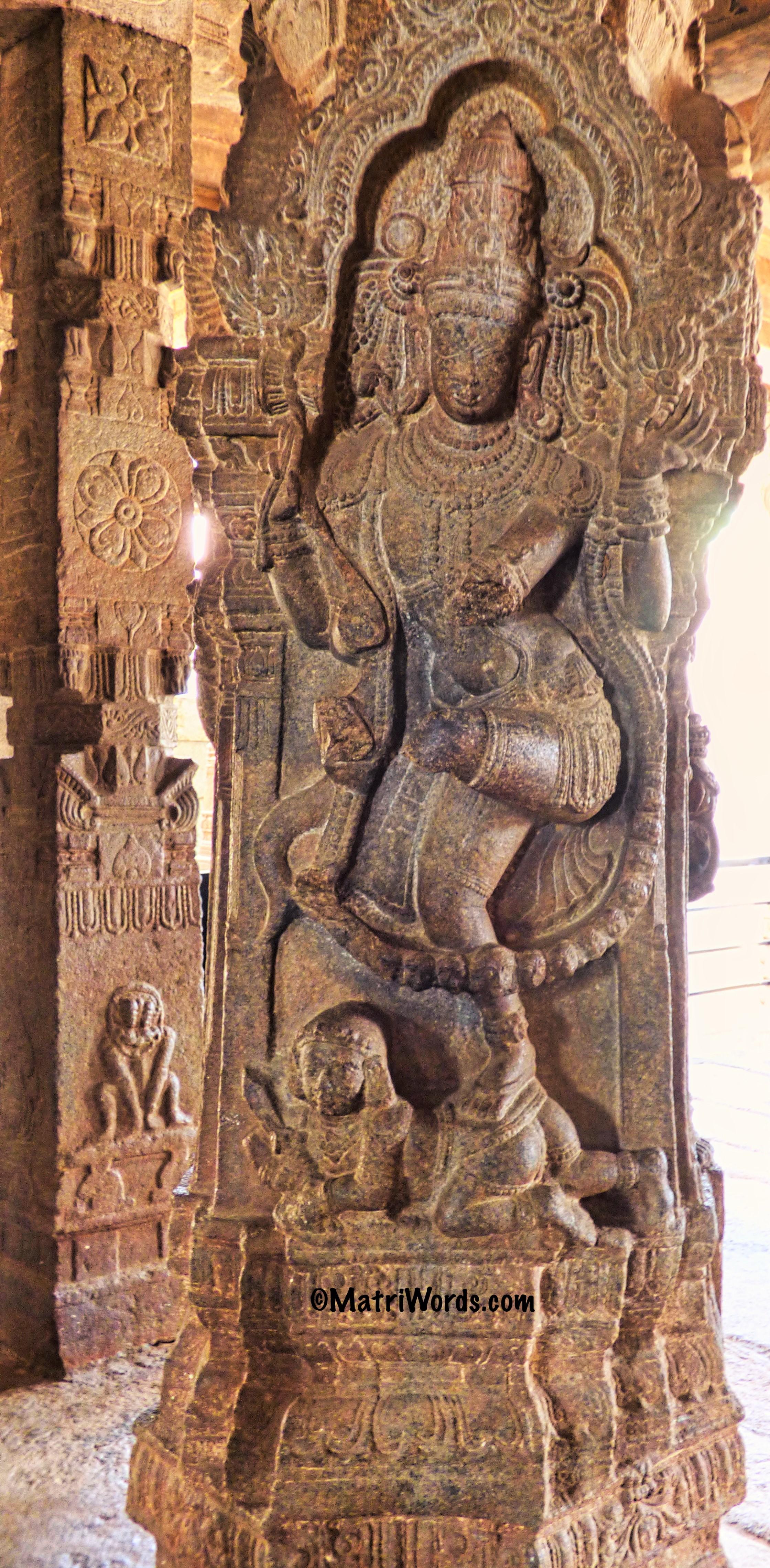 Nataraja at Lepakshi