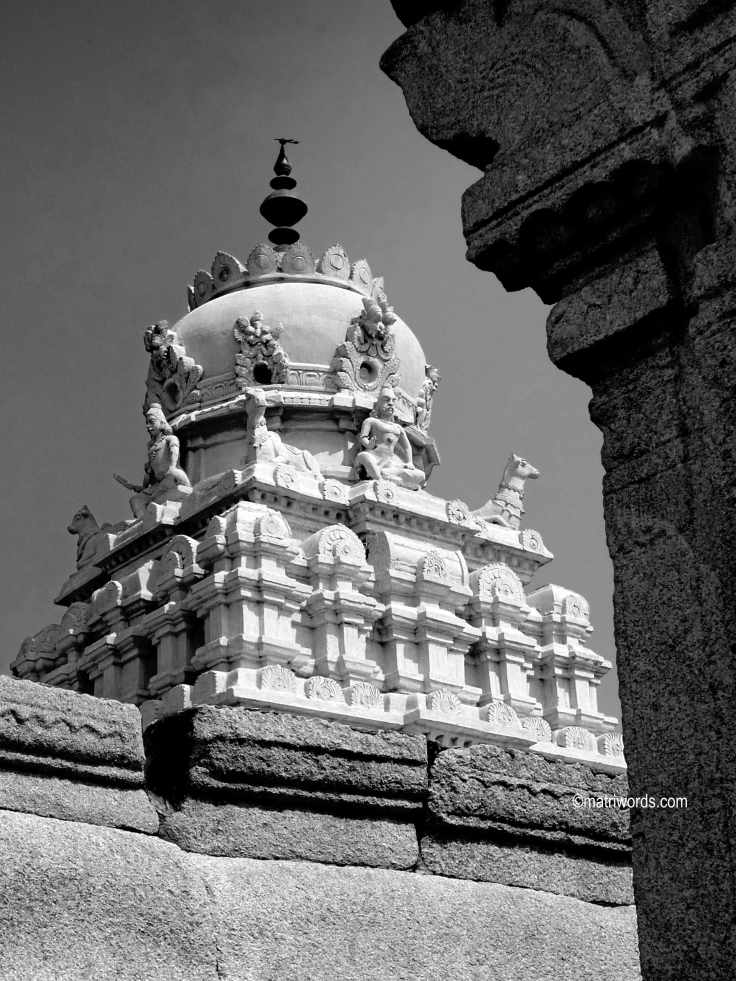 On Matriwords: Temples of India
