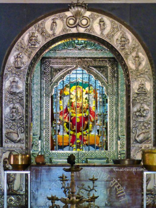 Garbhagriha, Devaki Krishna temple, Marcel, Goa