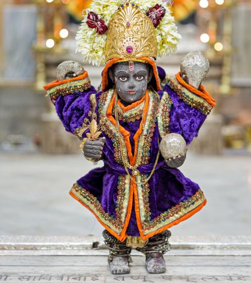 Utsav murti of Krishna, Devaki Krishna temple, Goa